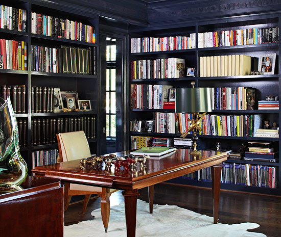 Library Study Room Ideas: Elegant Makeover For A Dallas Home