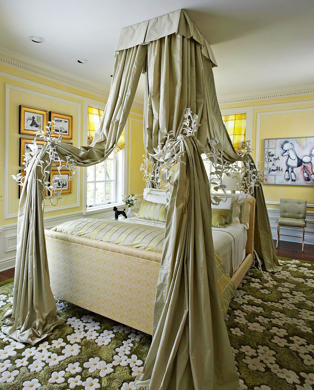 Interior Images Of Decorated Bedrooms beautifully decorated bedrooms from showhouses all over america enlarge