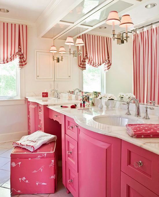 decorating bath vanities traditional home little girls bathroom girls bathroom pinterest