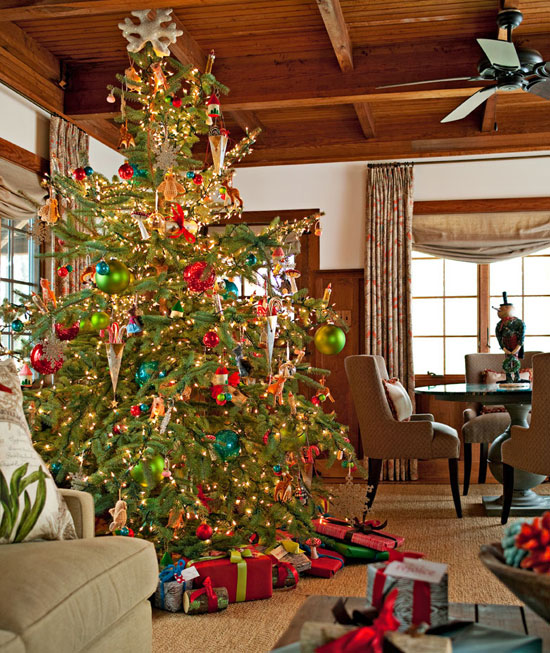 Home Design Ideas For Christmas: Snowy Vermont Home Ready For Christmas
