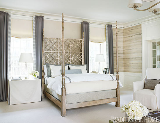 Traditional Bedroom Ideas decorating ideas: beautiful neutral bedrooms | traditional home