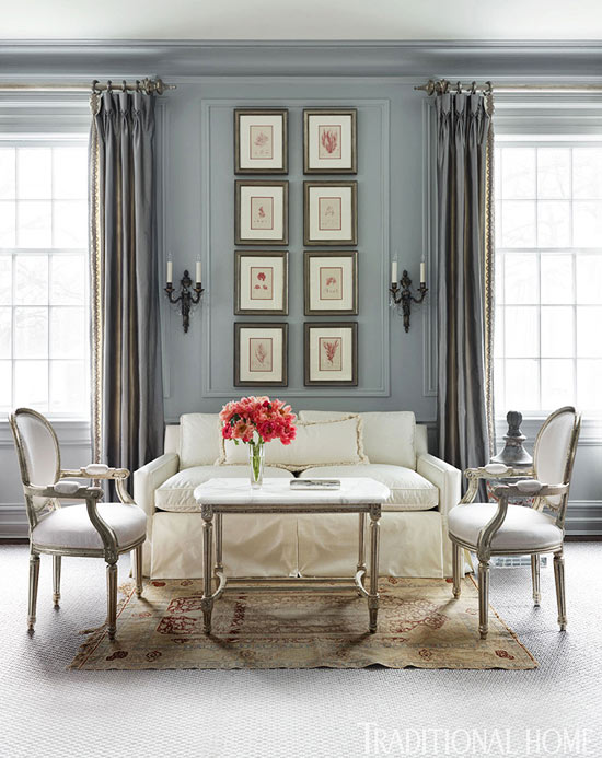 Sophisticated Lake Forest Showhouse Traditional Home