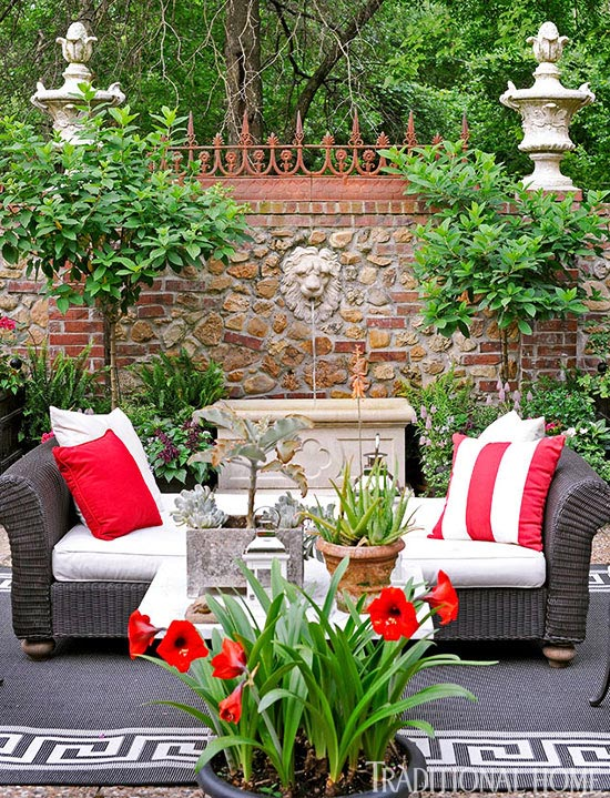 pleasing kc home and garden show.  ENLARGE Garden With Color and Flair Traditional Home