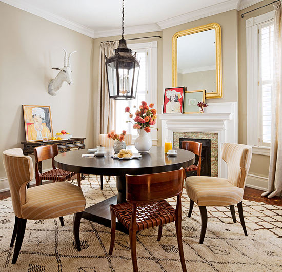 casual dining rooms with ease and comfort | traditional home