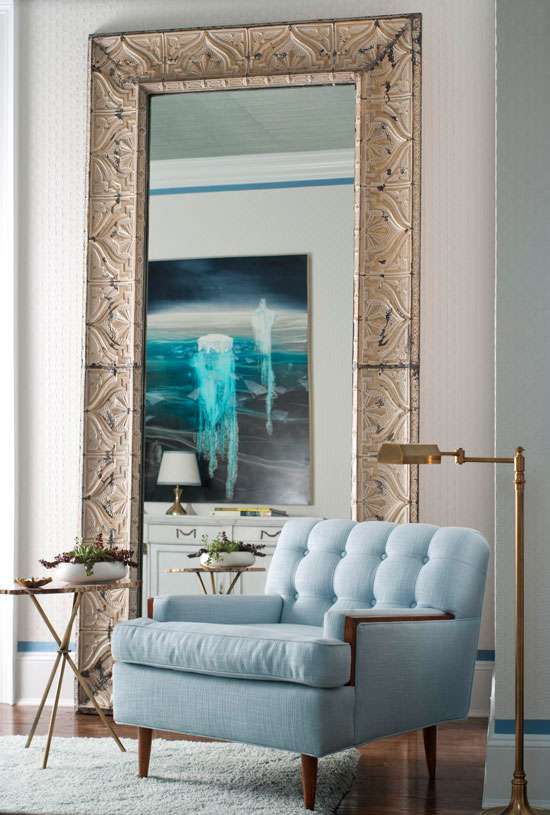 decorating with mirrors traditional home. Black Bedroom Furniture Sets. Home Design Ideas