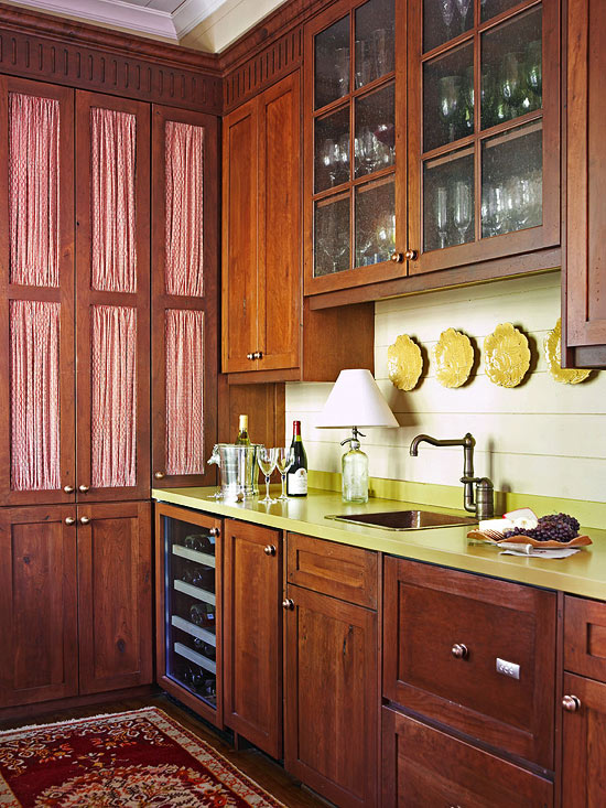 Beau + ENLARGE. Wood Paneled Butleru0027s Pantry