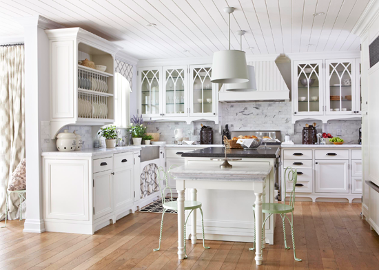 Kitchen trends for 2013 traditional home for Traditional home kitchens