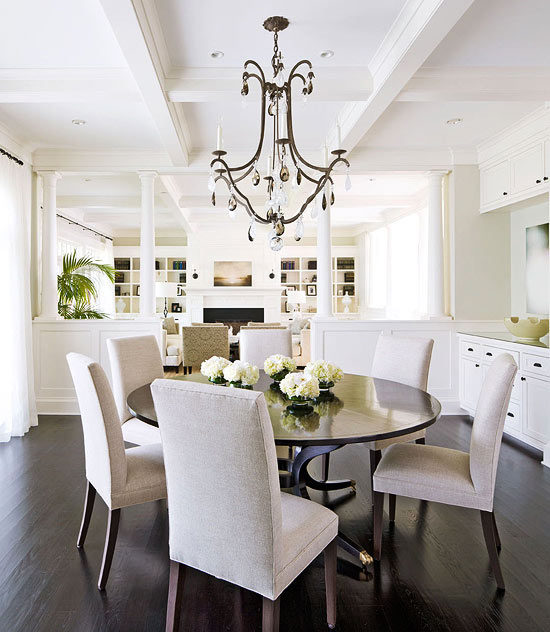 traditional home dining rooms. Centrally Located Dining Room Casual Rooms With Ease And Comfort  Traditional Home
