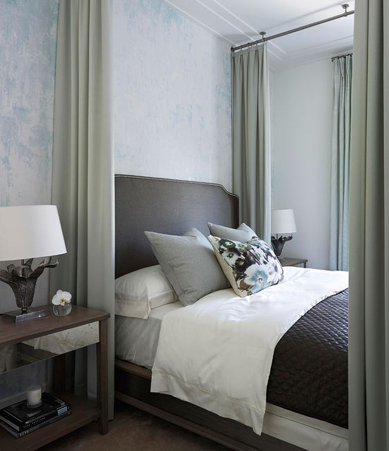 Small Bedrooms With White Wainscoting And Gray Paint: Our Loveliest Small Bedrooms