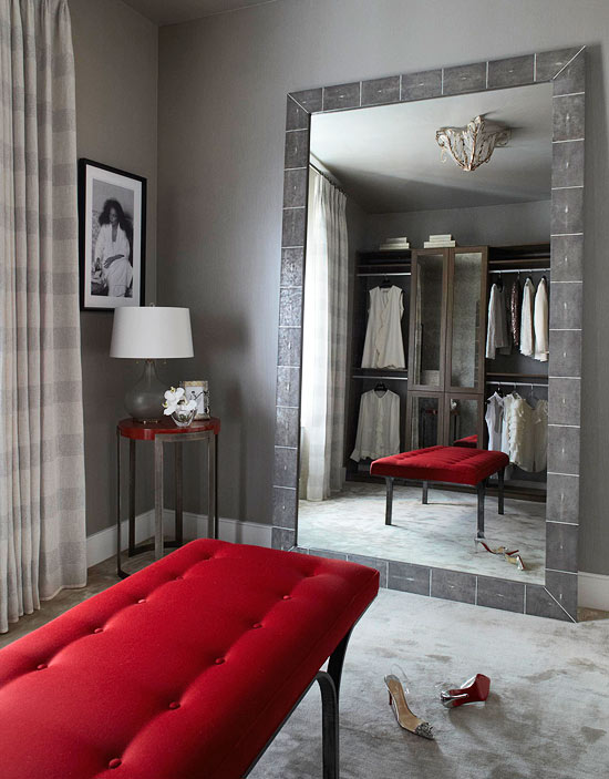 ENLARGE Beautifully Organized Closets and Dressing Rooms Traditional Home