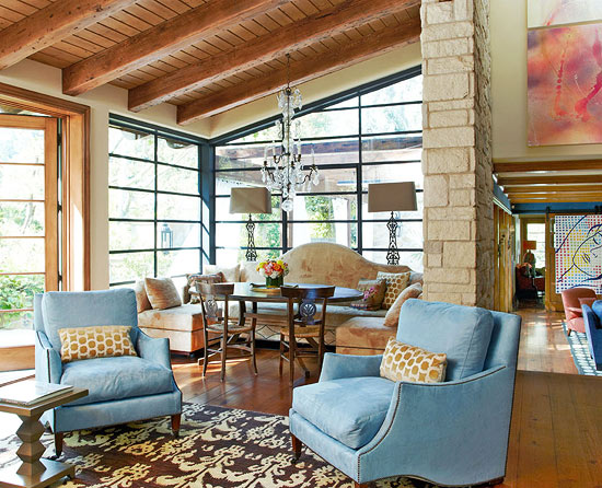Sela Ward's Stylish Bel Air Home With A Southern Soul