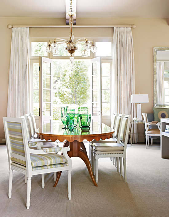 + ENLARGE. Effortlessly Elegant Dining Room