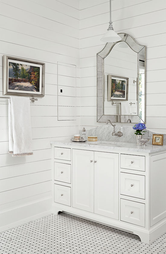 Bathroom Vanities Vintage Style decorating: bath vanities | traditional home