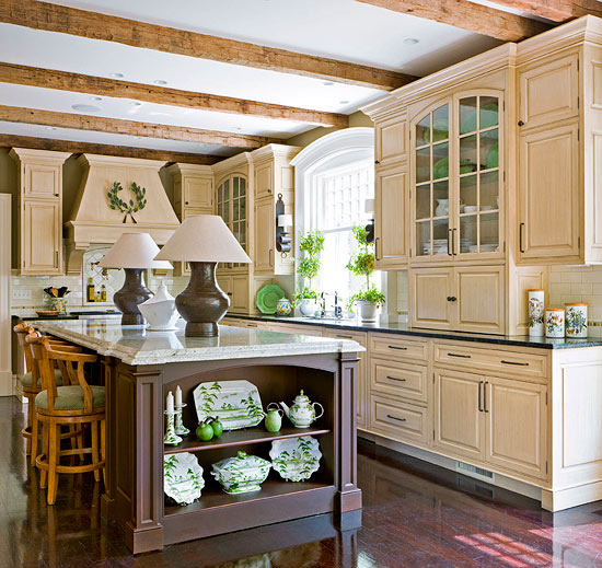 Kitchen Before And After our best before-and-after kitchens | traditional home
