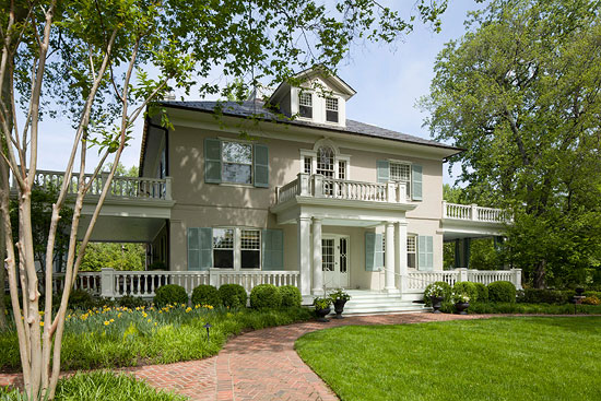 Before and after classic maryland home traditional home for Home builders in southern maryland