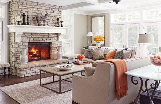 Naturally Neutral Living Room