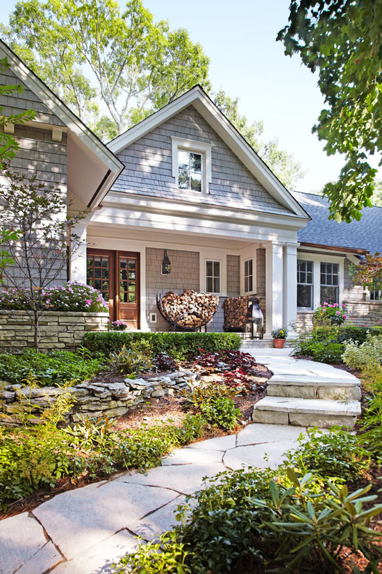 Before and after remodeled ranch house traditional home for Traditional ranch house