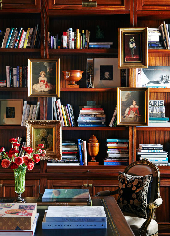 Home Library Decorating Ideas: Stylish Ideas For Arranging And Organizing Bookcases