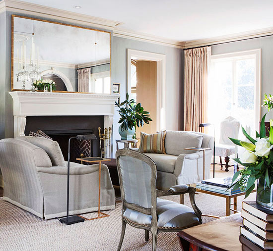 Neutral Living Room Colors Elegant Living Rooms In Neutral Colors  Traditional Home