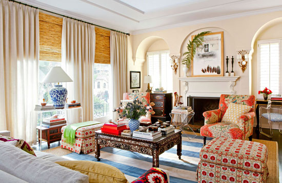 Hollywood Home In Warm Neutral Colors Traditional Home
