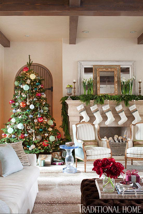 Decorating: Christmas Trees | Traditional Home