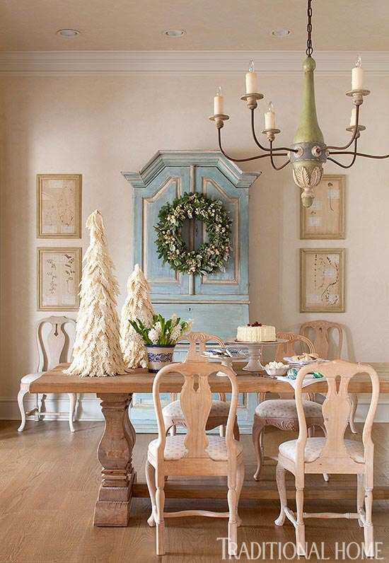 Scandinavian Style Christmas Pretty Texas Home