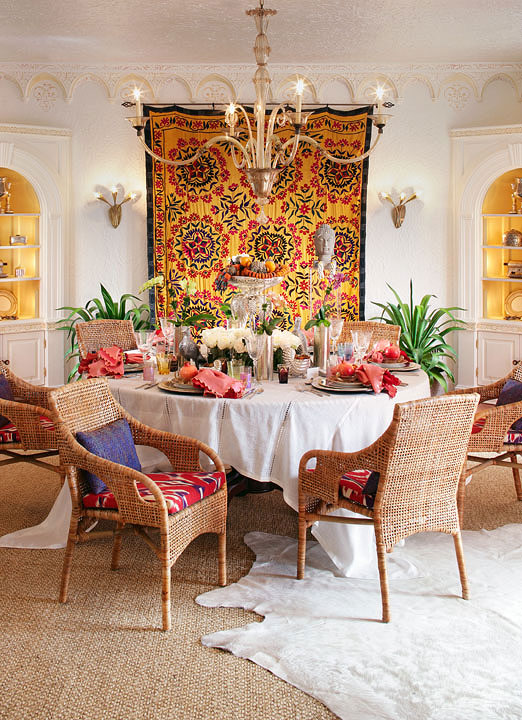 Colorful Moroccan Inspired Dinner Party With Recipes