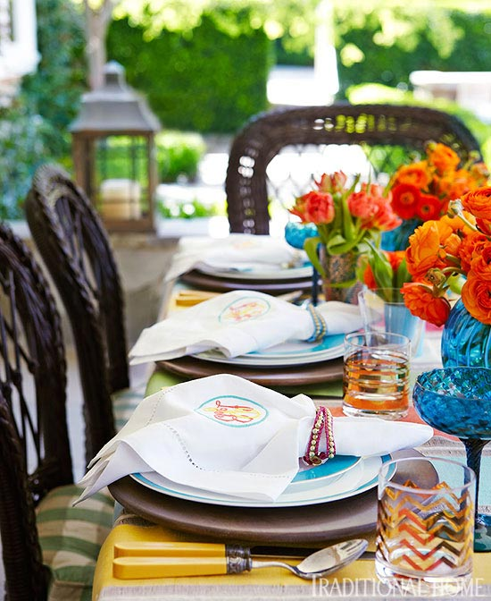 + ENLARGE : mexican table settings - pezcame.com