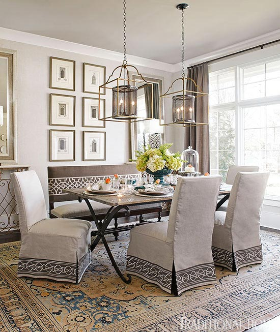 Decorating gorgeous gray rooms traditional home - How to decorate a gray living room ...
