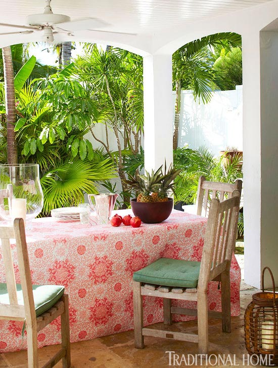 Model Designer India Hicks Home in the Bahamas Traditional Home