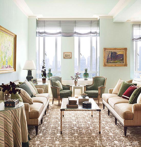 New york apartment with elegant british style for Home decor new york