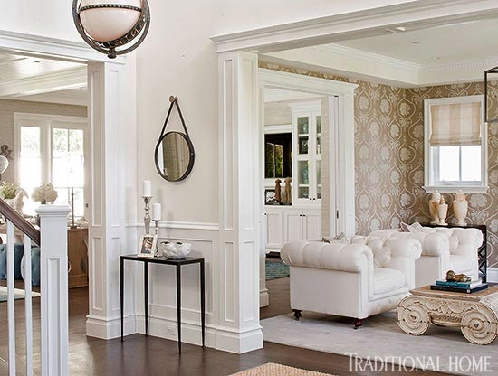 ENLARGE At Home with Bill and Giuliana Rancic Traditional