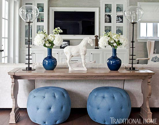 At Home With Bill And Giuliana Rancic Traditional Home