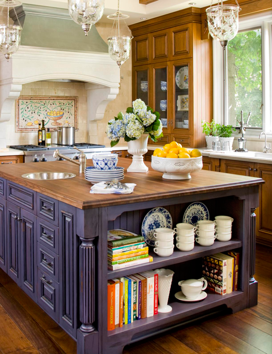 39 Kitchen Island Ideas With Storage: Get Organized: Refined Storage Solutions