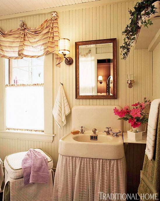 How To Decorate Powder Room create a smashing powder room | traditional home