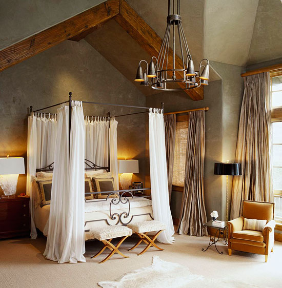 Rustic Decorations For Homes: Comfort And Style For A Rustic Mountain Home