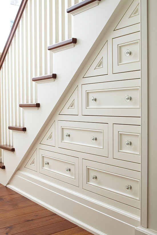 Decorating and design tips from tom stringer traditional for Under the stairs cabinet