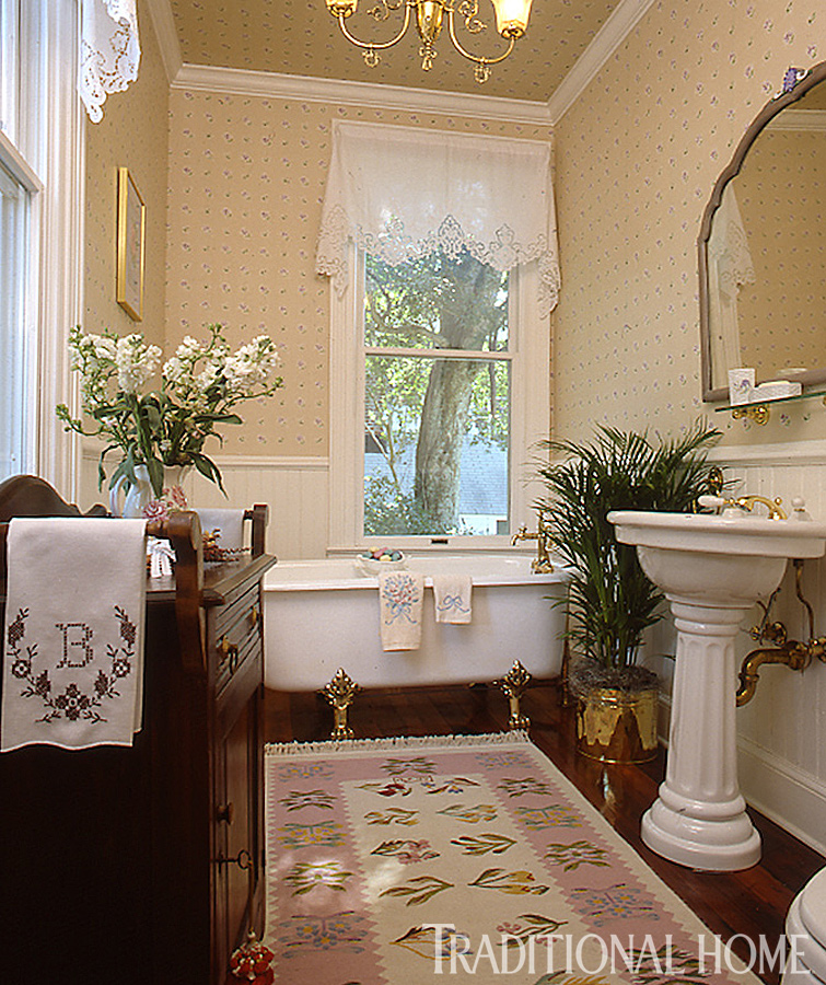 25 years of beautiful bathrooms traditional home for Traditional bathroom