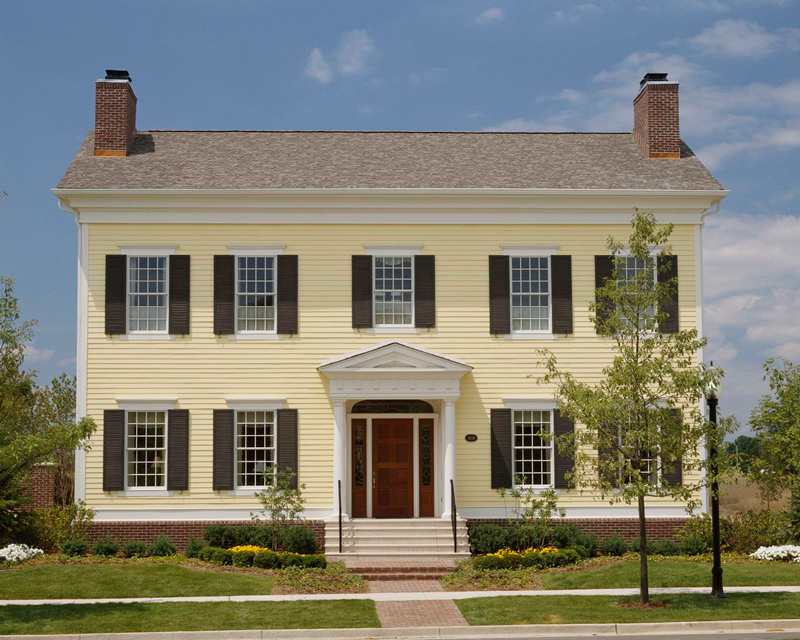 hedrich blessing colonial style architecture - Colonial Design Homes