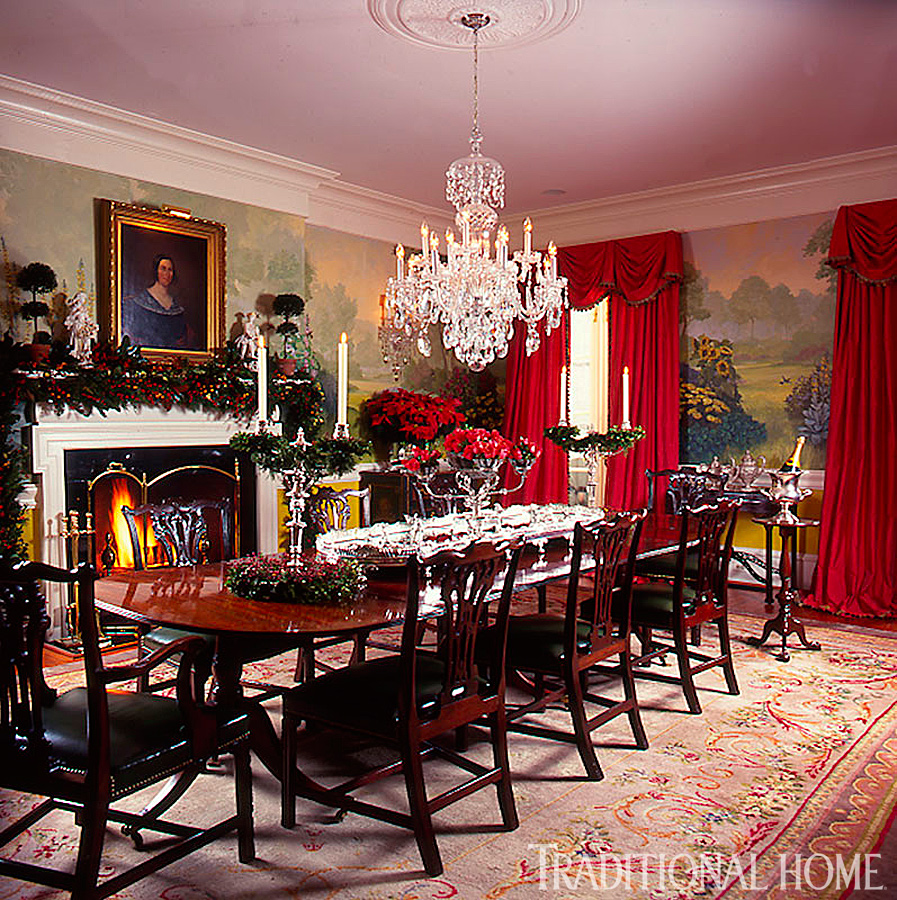 Traditional Dining Room: 25 Years Of Beautiful Holiday Rooms