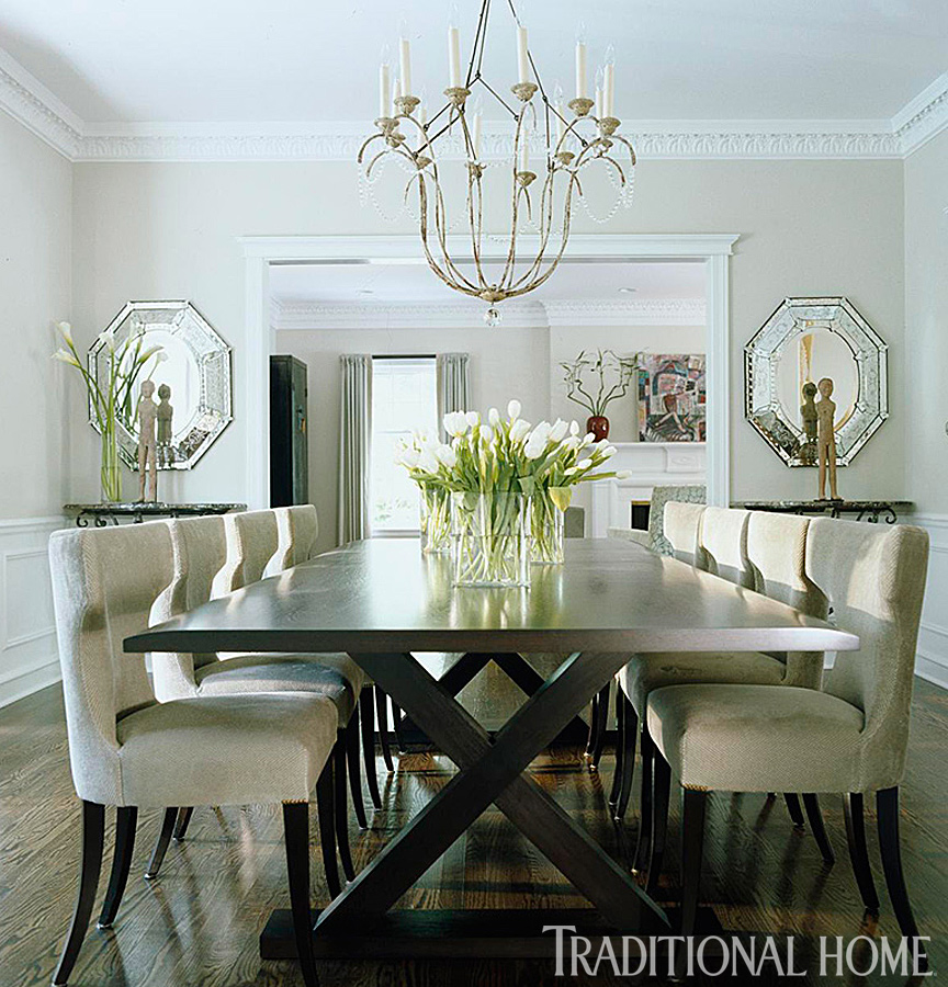 25 years of beautiful dining rooms traditional home for Beautiful traditional dining rooms