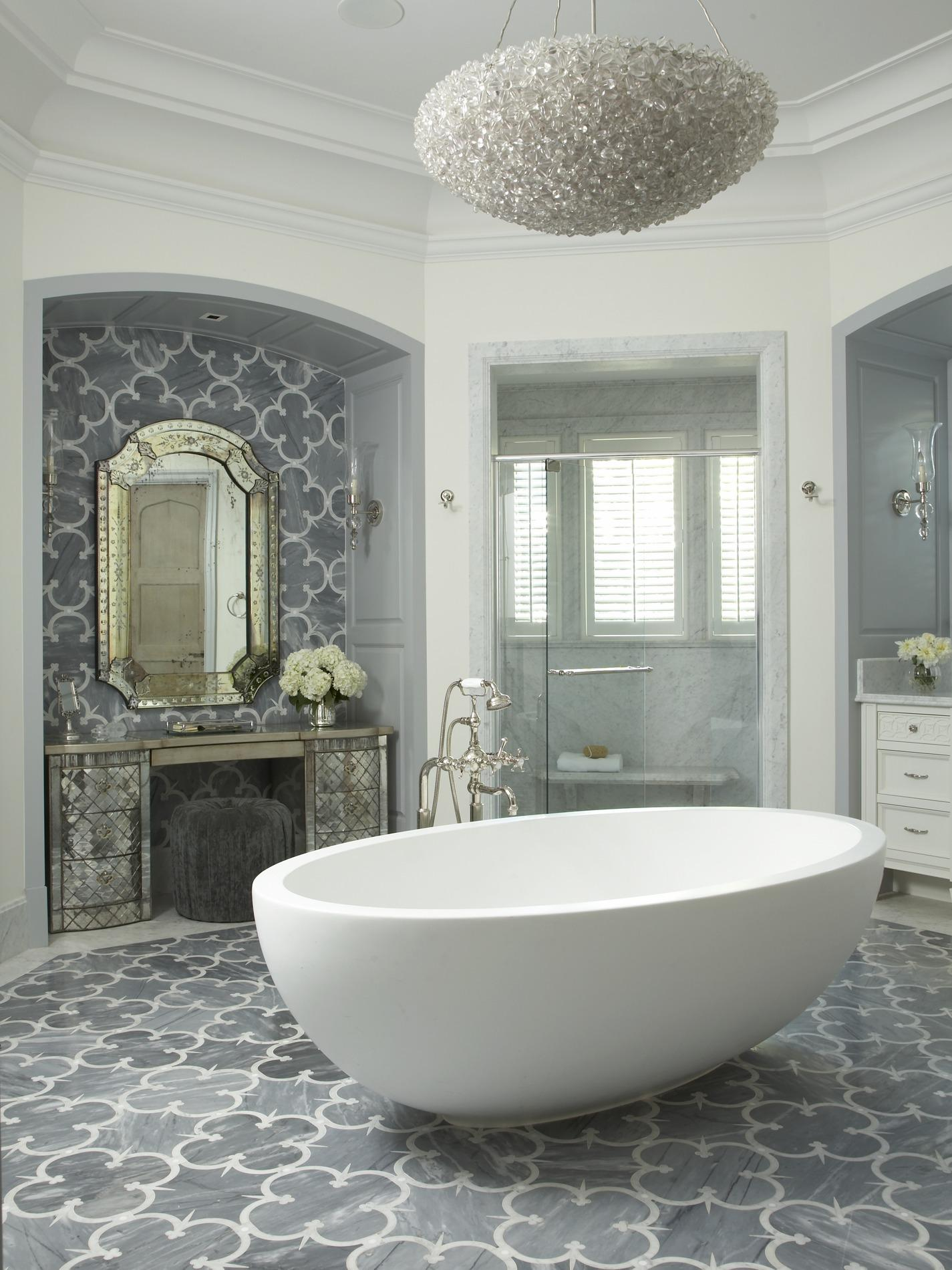 Glamorous Florida Bathroom Traditional Home