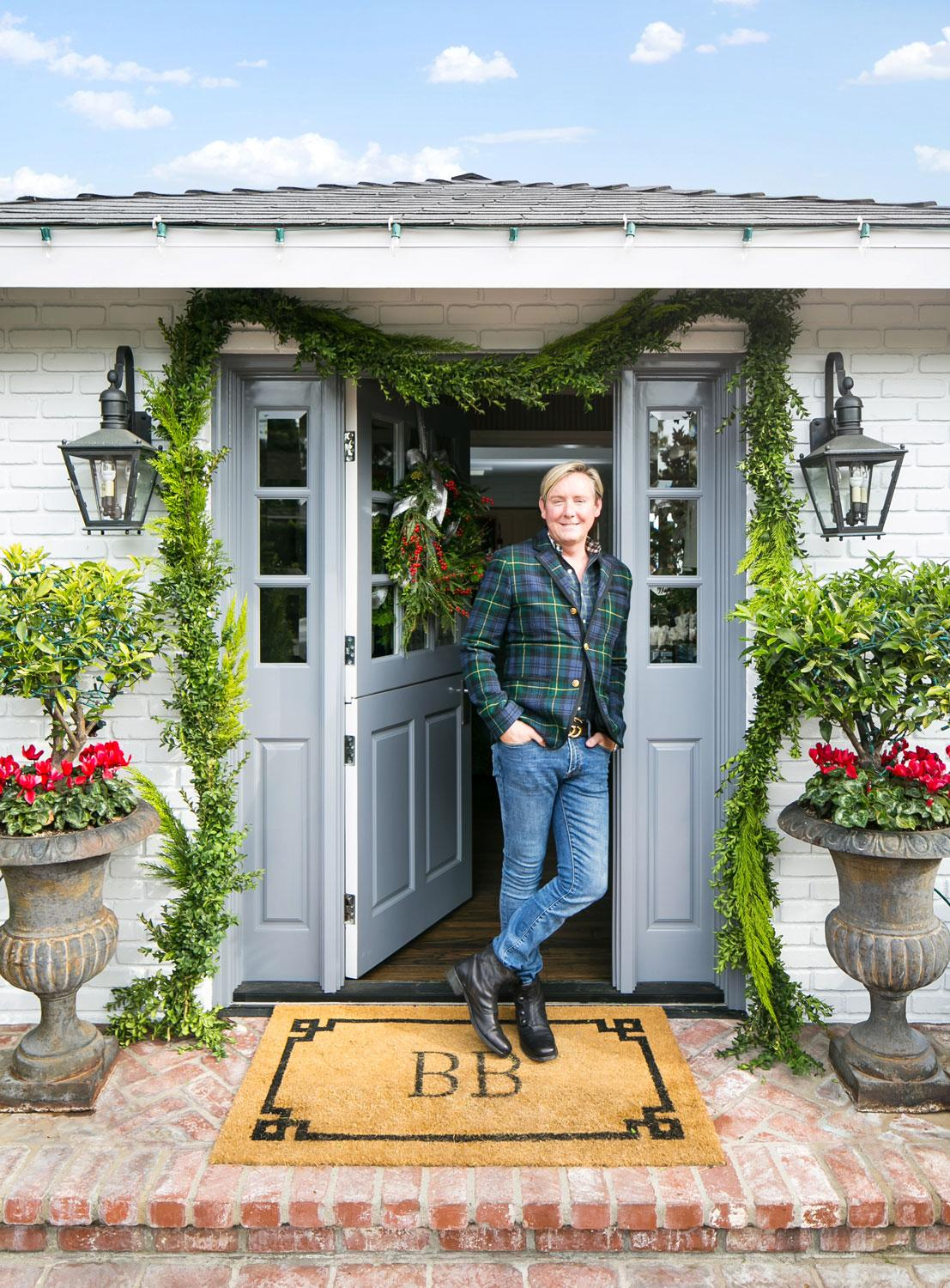 Holiday decorating tips from designer barclay butera for Barclay home design