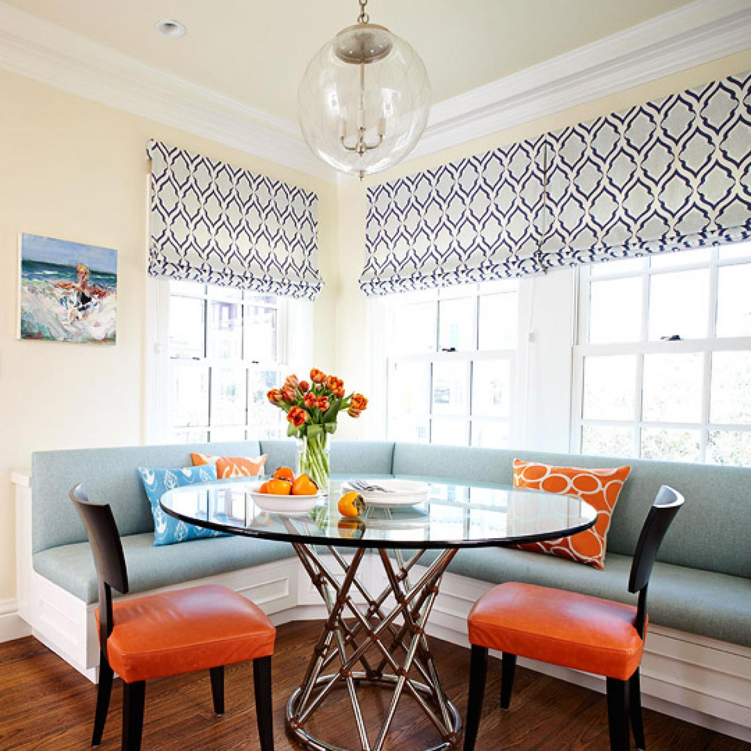Smart, Beautiful Kitchen Banquettes | Traditional Home