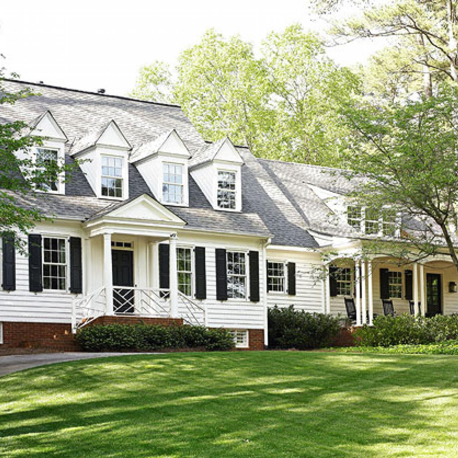 Atlanta remodel traditional home for Classic house plans