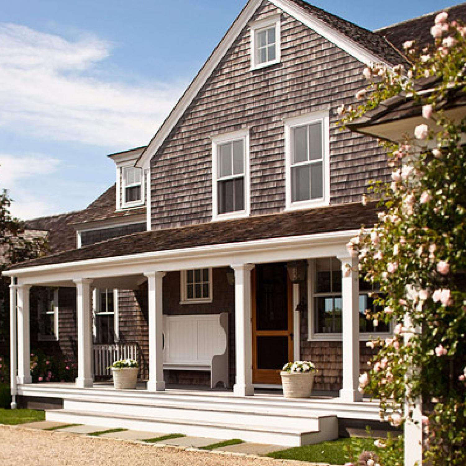 Nantucket Summer Home Traditional Home