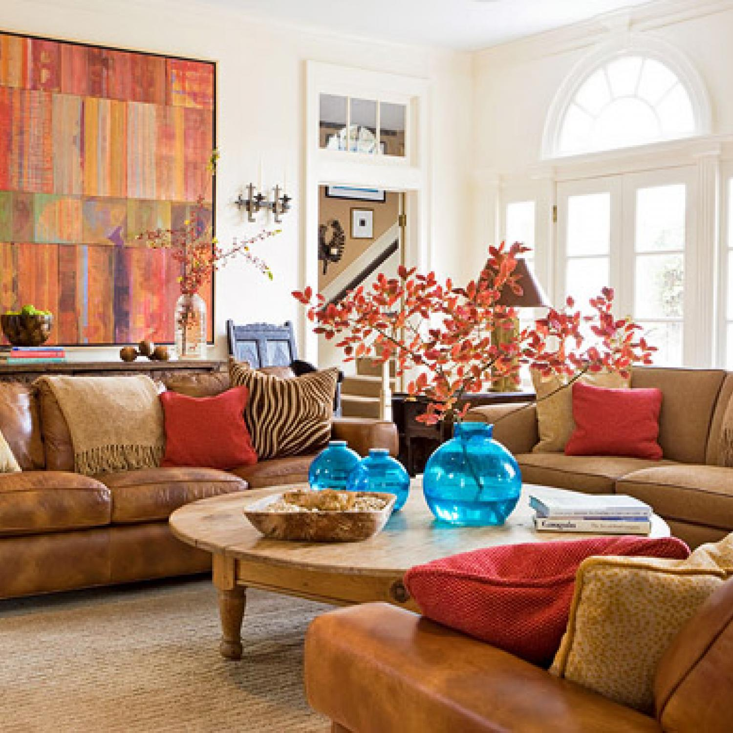 Family rooms we love traditional home - Family living room ideas ...