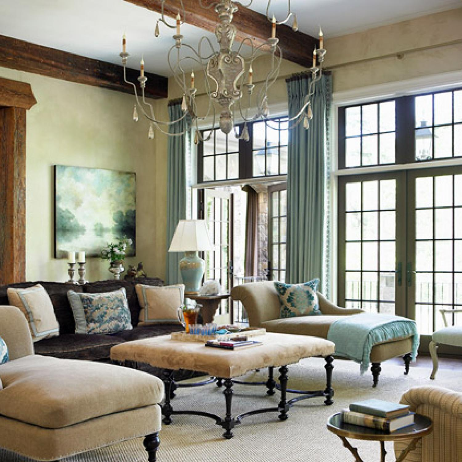 Classical Home Design Idea: Elegant And Family-Friendly Atlanta Home