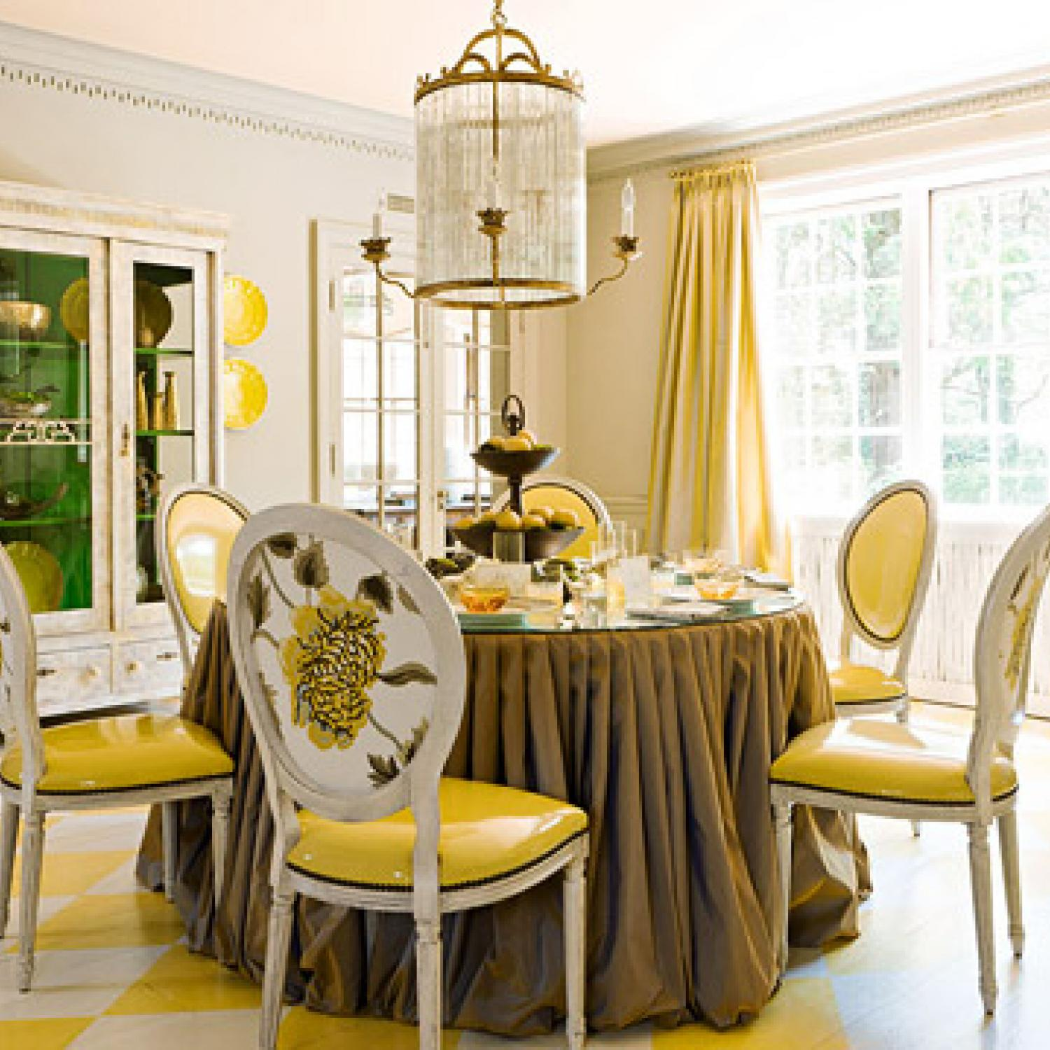 Traditional Decorating in Sunny Yellow | Traditional Home
