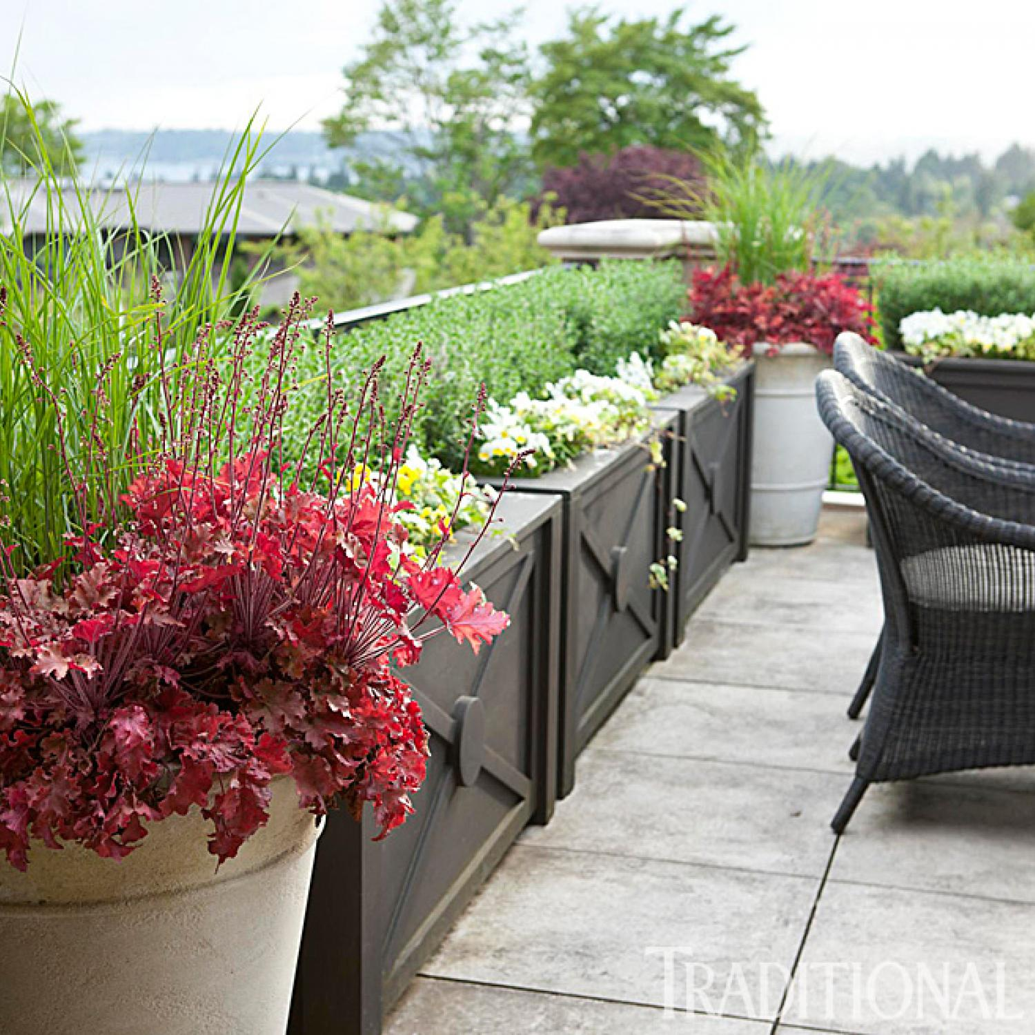French Inspired Garden In The Pacific Northwest